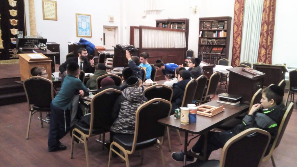 CBS Kollel kids program